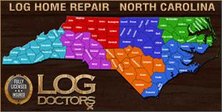 Log Home Repair North Carolina